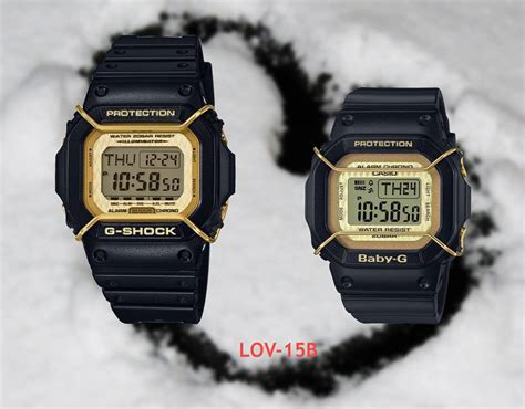 Casio Lov live photos g shock baby g collection lov 15a
