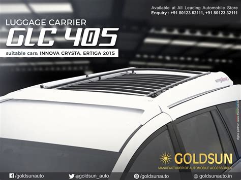 Roof Rack Ertiga best 25 roof luggage carrier ideas on car