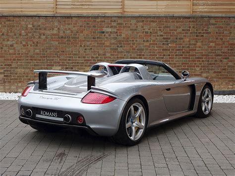 Porsche Carrera Gt Used by 2005 Used Porsche Carrera Gt Carrera Gt Gt Silver