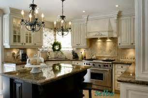 Kitchens With Different Colored Islands Cream Colored Kitchens On Pinterest Cream Kitchen