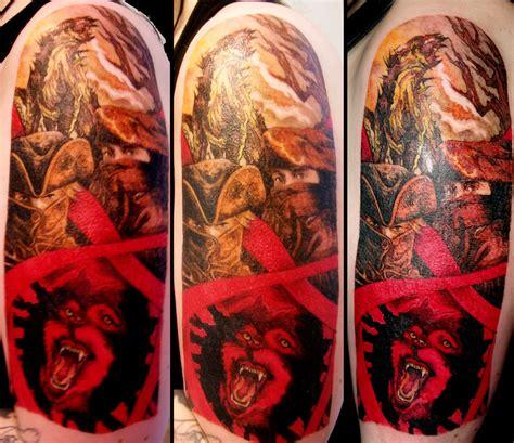 quarter sleeve wolf tattoo brotherhood of the wolf sleeve by alixbranwyn on deviantart