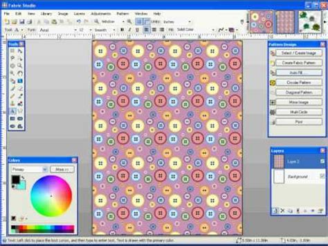 fabric pattern making software fabric studio software overview youtube