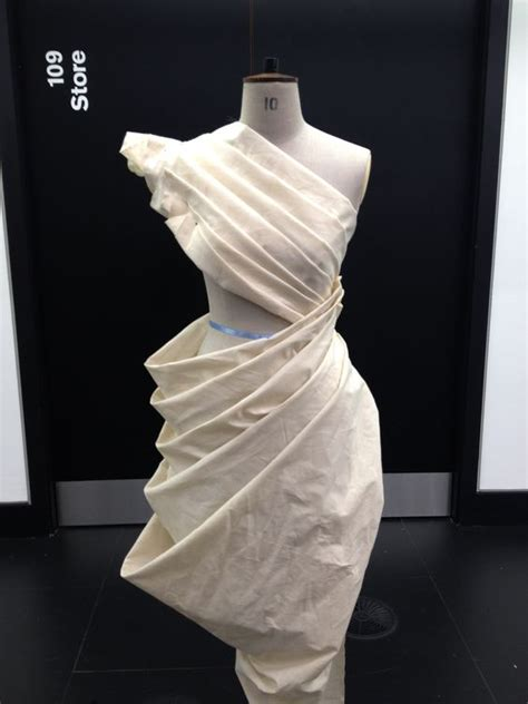 Pattern Draping Definition | draping on the stand dress design developing structure