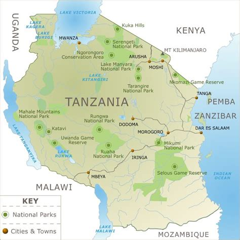 tanzania on the world map top ten tourist attractions in kenya tanzania africa