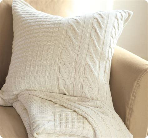 Sweater Pillow Covers by Pillows Made From Sweaters Simple Home Decoration