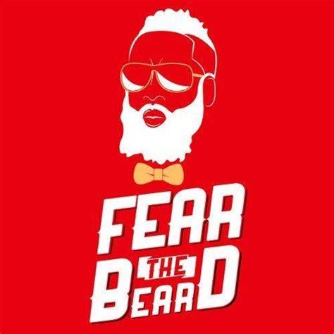 Tshirt Fear The Beard Logo Limited harden fear the beard t shirt textual tees