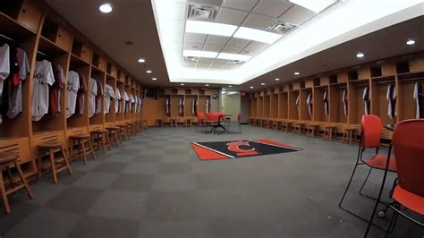 college locker room the of cincinnati athletic facility baseball locker room