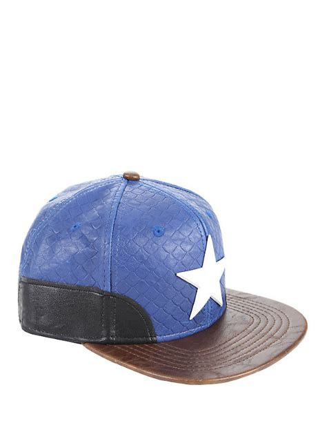 Topi Snapback Captain America Hatsstore 1 marvel captain america built snapback hat topic