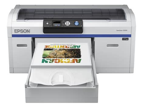 Printer Epson Surecolor Dtg F2000 epson surecolor sc f2000 desktop dtg printer garment printers direct to garment dtg printers