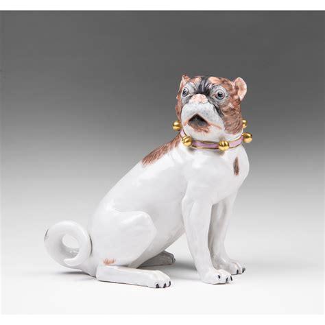 porcelain pug dresden porcelain pug by carl thieme from piatik on ruby