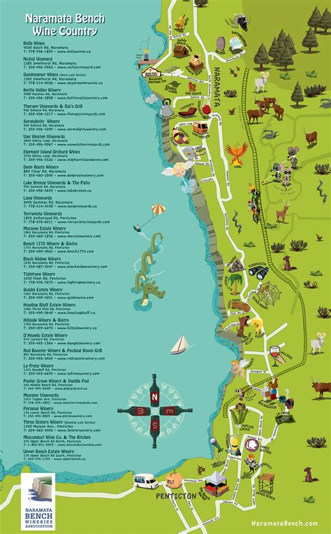 bench map naramata bench map 28 images the perfect day wine