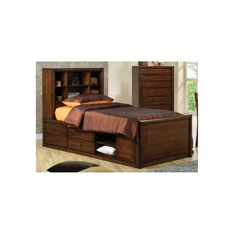bookcase storage bed set hton storage bed bookcase tower