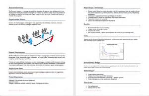 project proposal template format amp template