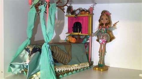ever after high beds ashlynn ella doll bed remake ever after high m 243 veis e