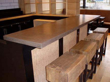 kitchen bar top concrete bar top made for locali pizza bar kitchen in new canaan ct concrete bar