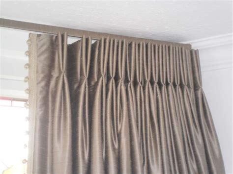 Triple Pleated Curtains » Home Design 2017