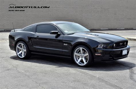 2014 mustang rims 2014 ford mustang gt on 20 quot str 607 silver concave