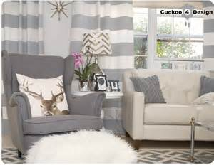 Gray And Gold Curtains Where Is My Armchair Cuckoo4design