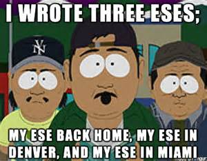 South Park Mexicans Write Essays by Fark 9353465 Denies Chanting S A At A Rally He Insists He Was Chanting