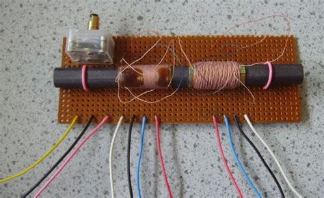 inductor rod design radio tuned circuits