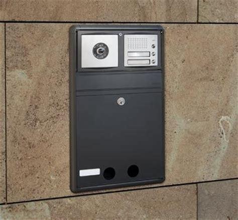 cassette postali con citofono cassetta postale incasso per citofono