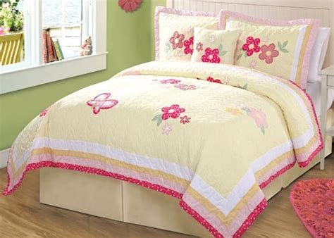 pink and yellow comforter sets pink yellow butterfly bedding full queen quilt set