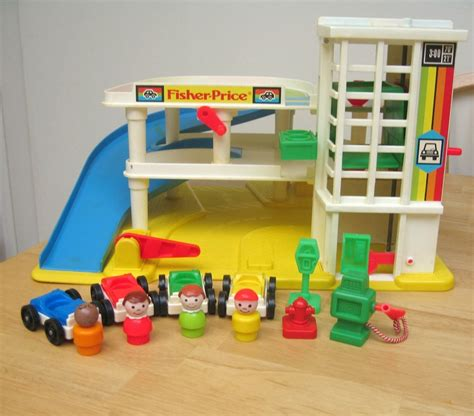 fisher price garage reserved fisher price vintage garage playset