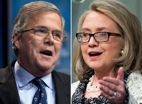 Bush Vs Clinton by Jeb Bush Vs Clinton The Fix Is In Wbdaily