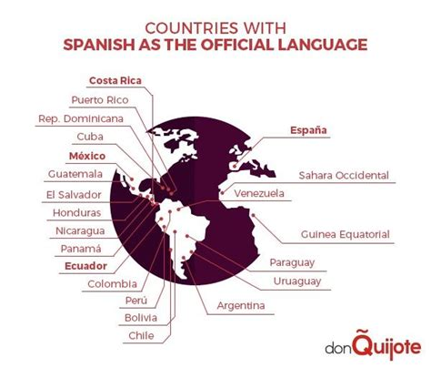what countries as their official language 1000 images about speaking countries on