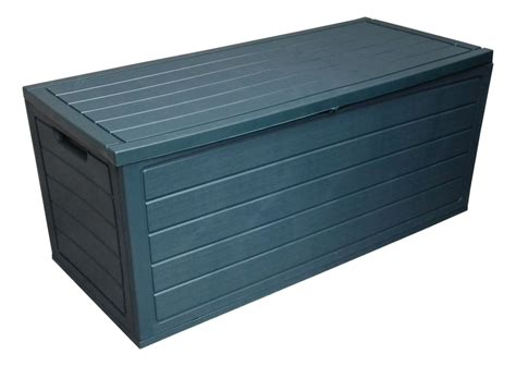 plastic storage chest keter   gallon resin deck