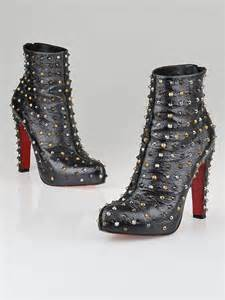 Givenchy Arielle Studded1660 christian louboutin anthracite leather ariella clou studded ankle boots size 8 5 39 yoogi s closet