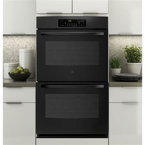 build wall oven jt3500dfbb ge 30 quot built in double wall oven