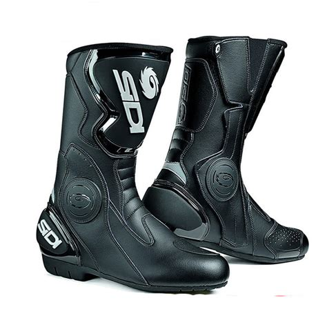 sidi motorcycle boots sidi black evo motorcycle boots touring boots