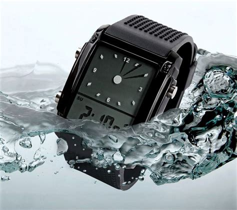 Jam Tangan Led Skmei Sport Trendy Led Display Water Resistant skmei jam tangan trendy digital analog pria 0814g black silver jakartanotebook