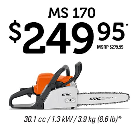 How To Light Firewood Stihl Canada Ms 170 Chain Saw