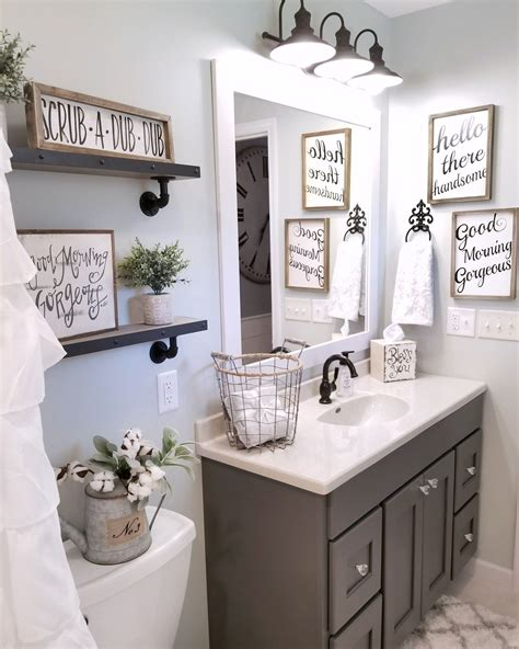 farm house decor farmhouse bathroom by blessed ranch farmhouse decor farmhouse decor pinterest ranch