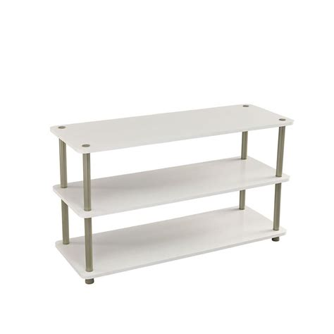 closetmaid 3 tier shoe organizer in white 5013 the home
