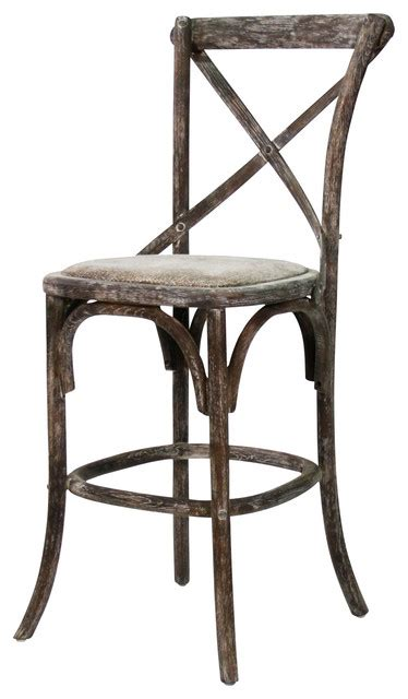 cafe bar stools parisienne cafe counter stool limed charcoal