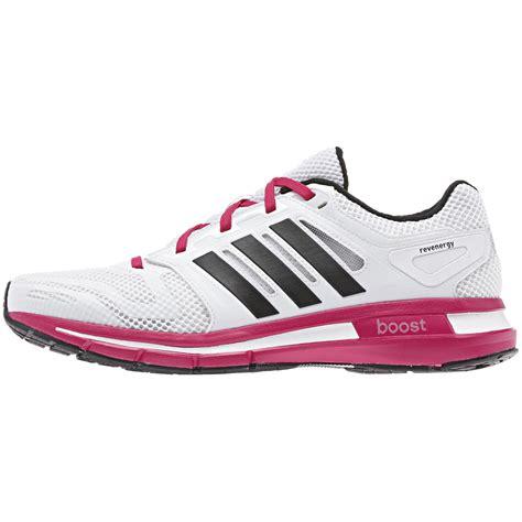 adidas womens revenergy boost running shoes white berry tennisnuts