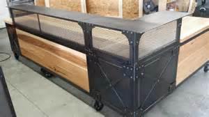 Industrial Reception Desk Real Industrial Edge Furniture Llc Industrial Reception Desk
