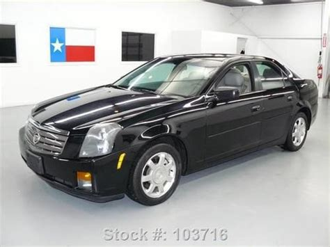 Cadillac Ctr by Sell Used 2004 Cadillac Cts V6 Sunroof Htd Seats Cruise