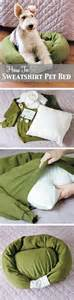make your own dog bed how to make your own dog bed can pick a sweatshirt up at