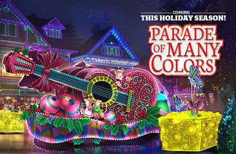 dollywood lights 2017 dollywood parade of many colors for 2016
