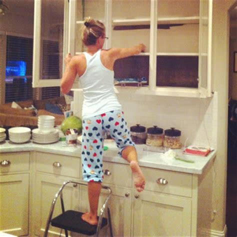 painting inside kitchen cabinets honey we re home painted kitchen cabinets