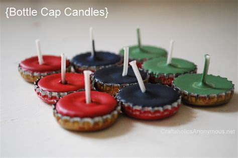 Recycle A Bottlecap Add A Pearl End Up With A Stunning Pin Fashiontribes Fashion by How To Make Diy Bottle Cap Candles