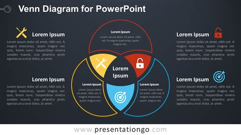 Venn Diagram Template Powerpoint Venn Diagram For Powerpoint Presentationgo Com