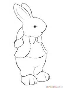 doodle draw easter bunny easter bunny step by step drawings happy easter 2017