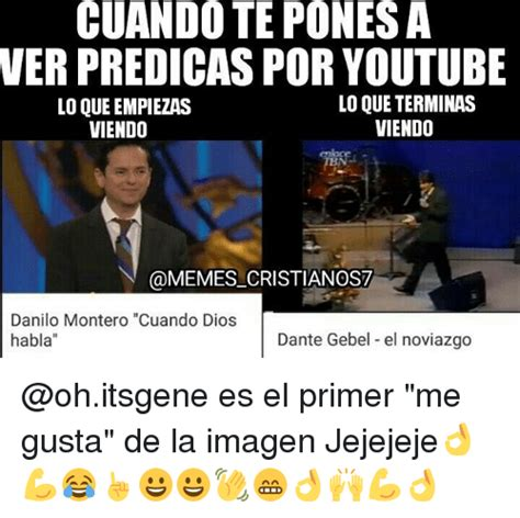 Meme Videos Youtube - cuando teponesa ver predicas por youtube lo que terminas