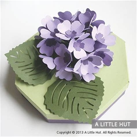 Hydrangea Paper Flower Bloombox 1000 images about cricut images on landing pages thank you cards and hydrangeas