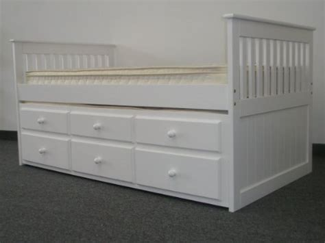 capitano white trundle bed with drawers bedz king captains twin bed with twin trundle and 3
